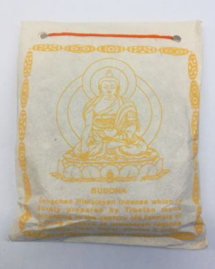 Gangchen | Tibetan Incense Powder | Buddha | 40g | Made in Nepal